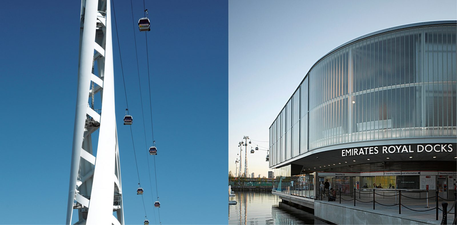 Emirates Air Line in London.